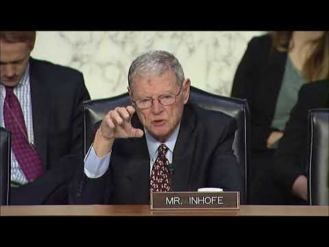 Inhofe Q&A at SASC Hearing about CENTCOM and AFRICOM
