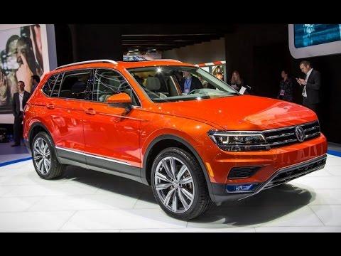 [ WATCH ]  Amazing Detroit Auto Show Volkswagen Tiguan 2018