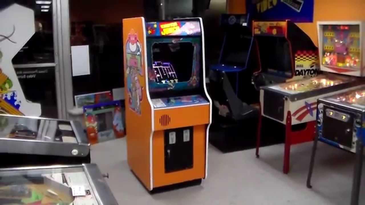 Nintendo S Donkey Kong Jr Arcade Game Shigeru Miyamoto Is A