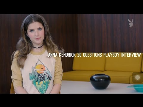 Anna Kendrick 20 Question Interview (Playboy Mag)