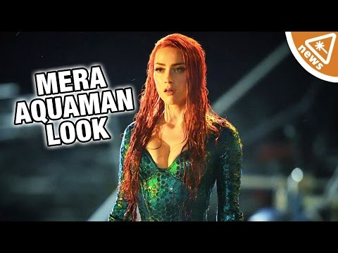 How Mera's Aquaman Look Could Signal Change to the DCEU! (Nerdist News w/ Jessica Chobot)