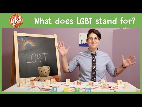 We absolutely love this fun educational video that explains the meaning of LGBTQ to kids