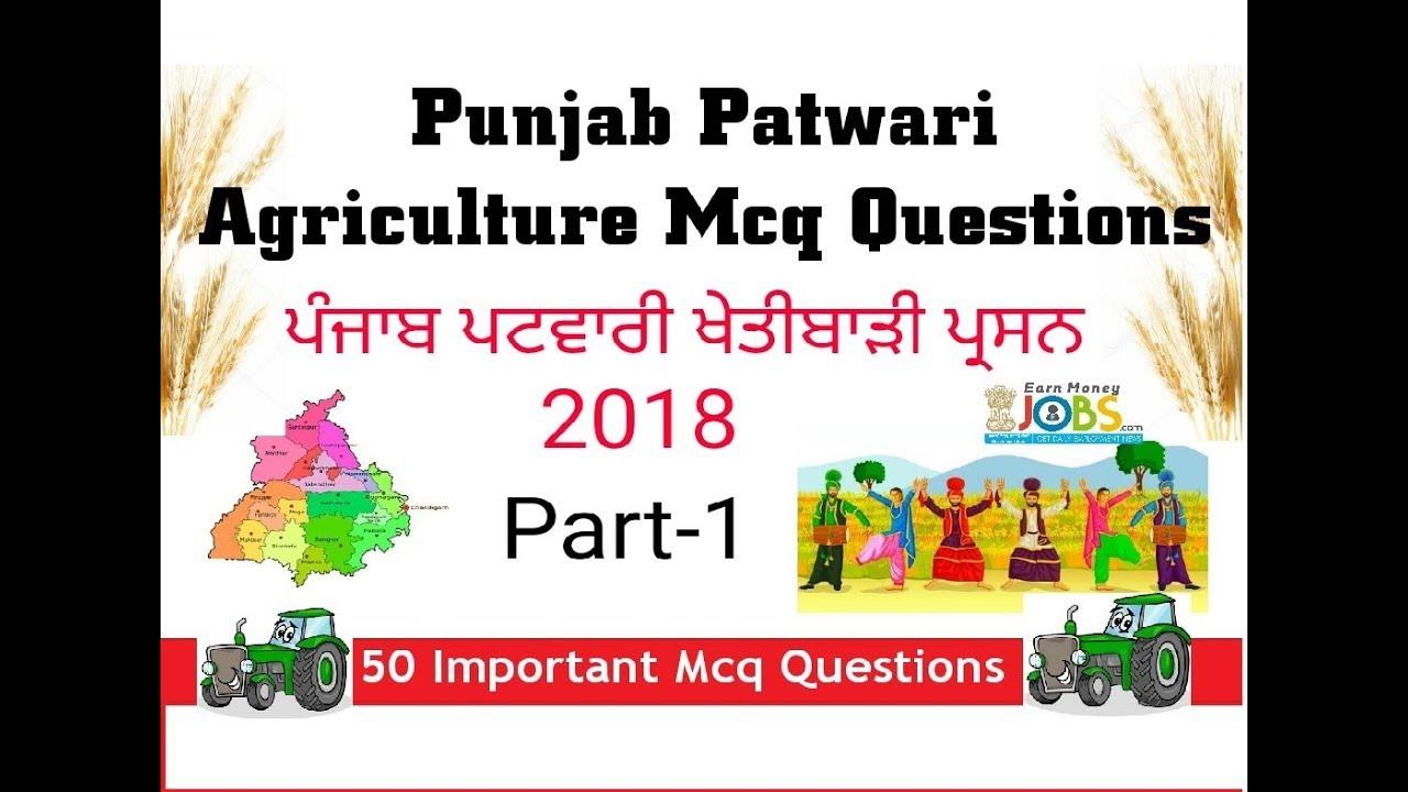 Patwari Syllabus 2015 Pdf Punjab