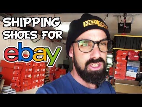 How to Ship Shoes for Ebay - FULL WALKTHROUGH TUTORIAL
