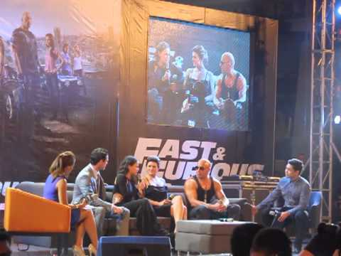 Fast and Furious 6 Manila Premiere Part 2