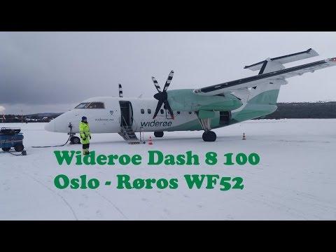 Widerøe Dash 8 100 Oslo-Røros