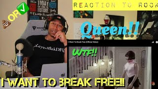 """First REACTION to """"Rock Music"""" Queen ( I Want To Break Free)"""