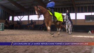 Yvelines | Les cavaliers de la Garde républicaine formés à Saint-Germain-en-Laye