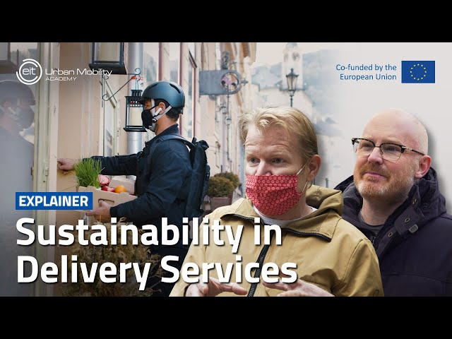 How can cities tap into the potential of last-kilometre deliveries?