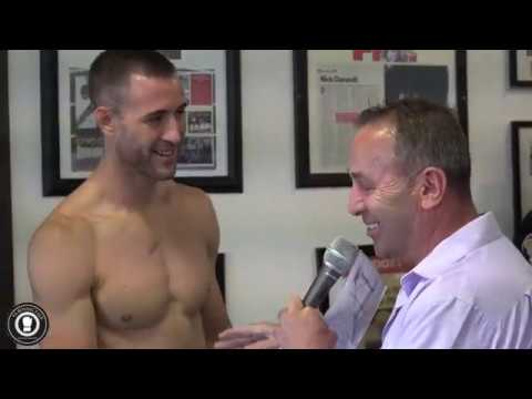 PRESS DAY | Boyd Allen & Brandon Thysse at Durandt's Boxing and Fitness