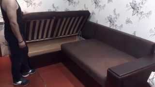 Угловой диван Париж(Угловой диван Париж с функциональными подлокотниками. Изготавливается на мебельном предприятии