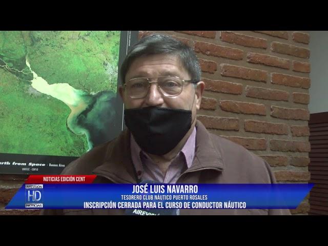 José Luis Navarro Inscripción cerrada para el curso de conductor náutico
