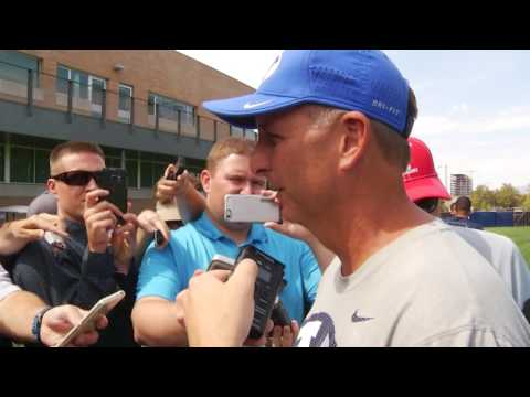 Football - Fall Camp August 23rd Ty Detmer