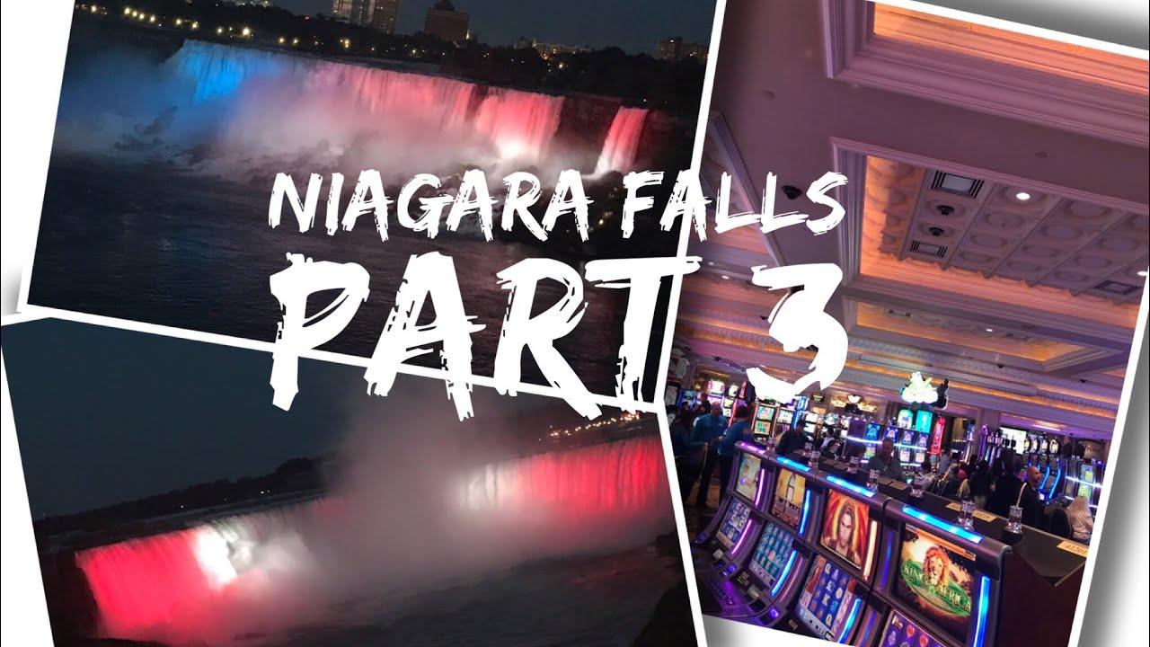 Canada Trip Vlog - August 2017 - Day 2 - Part 3 - Exploring Niagara Falls, Casino and Falls at night