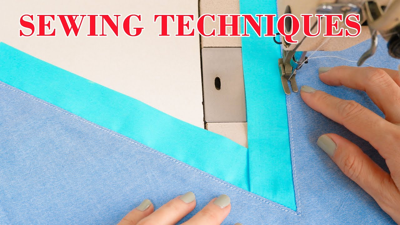 Sewing Techniques For Beginners | Neck Sewing Techniques | Thuy Sewing