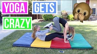 HILARIOUS Yoga Challenge! | Besties 2.0 | TruthPlusDare |