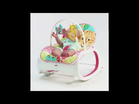 Fisher-Price Infant-to-Toddler Rocker Pink - Smyths Toys