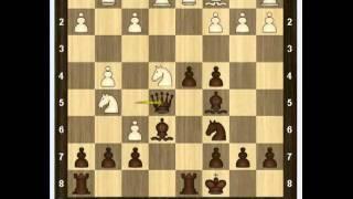 Уроки шахмат - Атака Макса Ланге 2