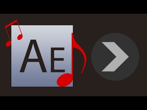 How to add sound in Adobe After Effects CS3 Tutorial
