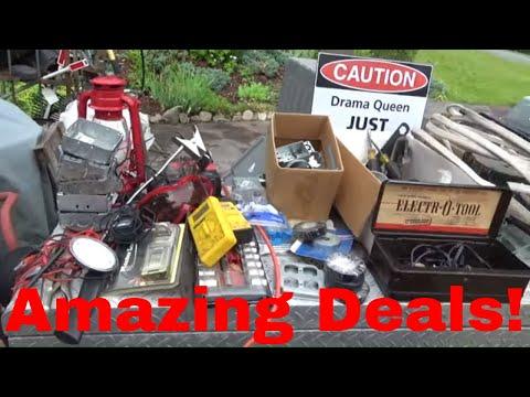 $1 Snap On Screwdrivers, Stormville Flea Market, Garage Sale Haul!