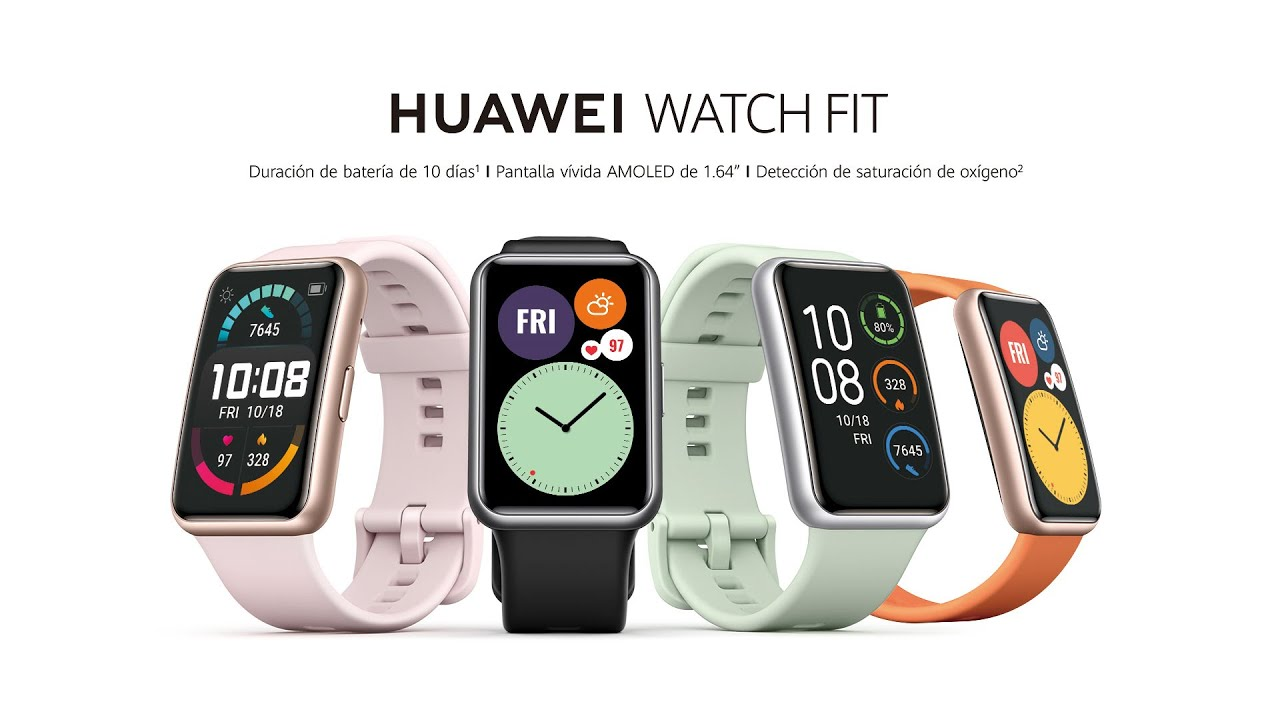 Lanzamiento HUAWEI Watch Fit