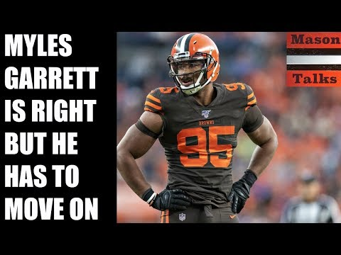 The NFL is probably hiding evidence, but Myles Garrett needs to move on