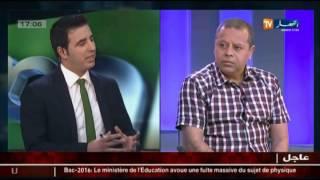 مصطفى بسكري..تأهل المنتخب الوطني منطقي و مستحق