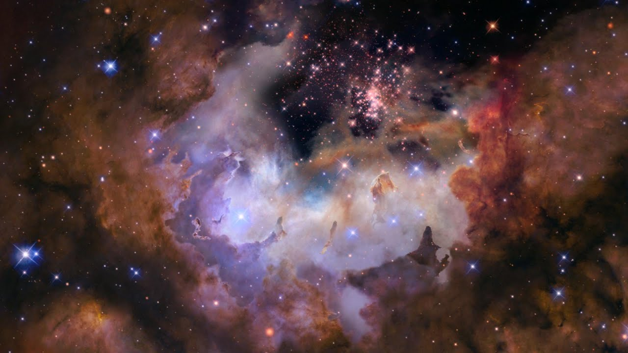 Celestial fireworks star cluster westerlund 2 youtube