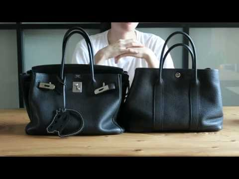 Hermes Comparison Birkin 30 And Garden Party Tpm Youtube