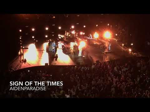 171123 Harry Styles in Singapore Sing of the times