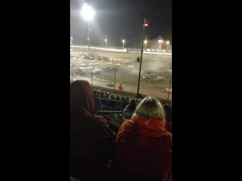Sycamore Speedway Demolition Derby (short clip) 9/2/2016