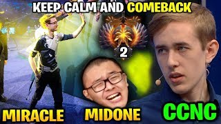 MIRACLE MIDONE - KEEP CALM AND COMEBACK vs Dubu Pieliedie CCnC Pajkatt