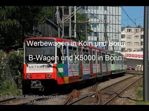 Werbewagen in Köln und Bonn #1 - B-Wagen und K5000 Bonn