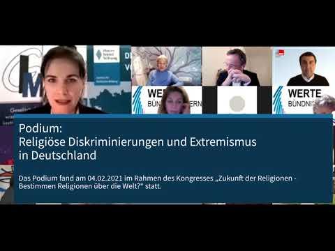 Podium: Religiöse Diskriminierungen und Extremismus in Deutschland am 04.02.2021