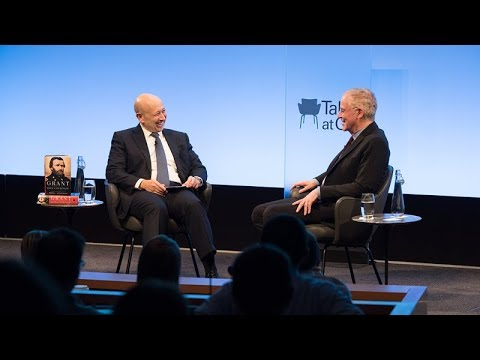 Talks at GS – Ron Chernow: Lessons in Leadership – The Unlikely Rise of Ulysses S. Grant