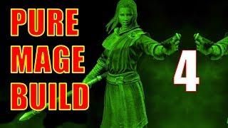 Skyrim Pure Mage Walkthrough NO WEAPONS NO ARMOR #4 - Hired Thugs Massacre Riverwood!