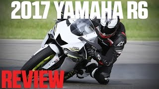 2017 Yamaha YZF-R6 Review - 4K