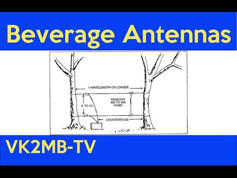 Beverage Antennas - Matt Maguire VK2RQ - Manly-Warringah Radio Society lecture