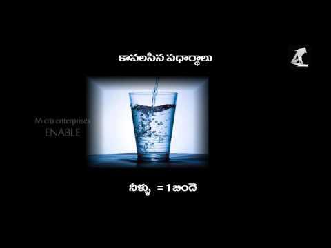 Rasna making - Business video(Telugu)
