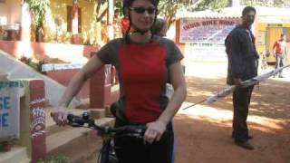Cycle Rally By Volunteers from UK with LEPRA-Koraput