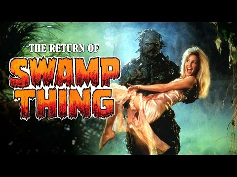 The Return of Swamp Thing 1989 Trailer