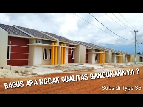 KENYATAAN RUMAH SUBSIDI TYPE 36 - YouTube