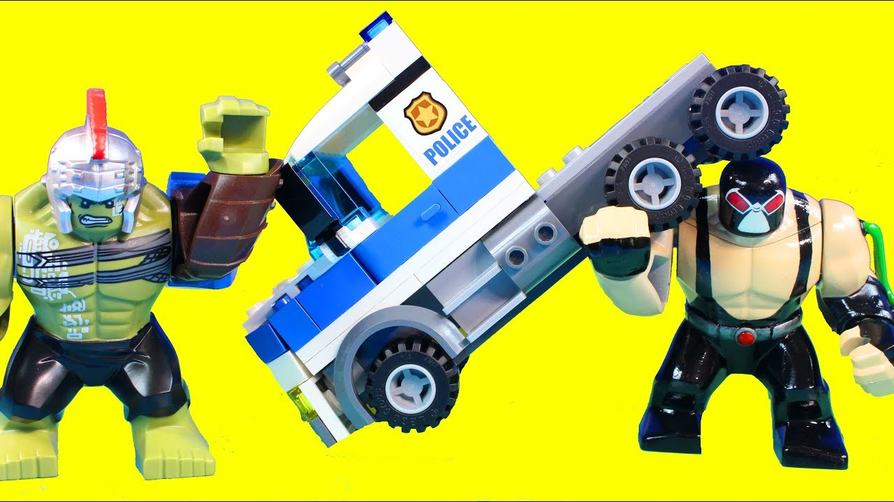 Lego City Mobil Command Center Police Jail Break Showdown Battle