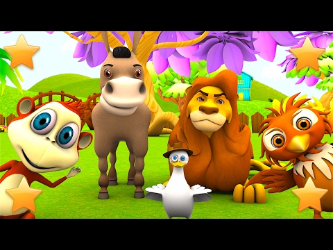 Learn farm animals and animals sounds  Nursery Rhymes & Kids Sgs  Little Treehouse S03E49