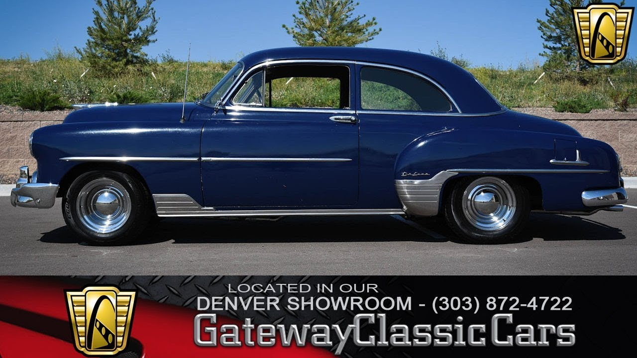 1952 chevrolet styleline now featured in our denver showroom 105 rh youtube com