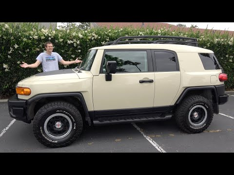 Here's Why the Toyota FJ Cruiser Should Come Back
