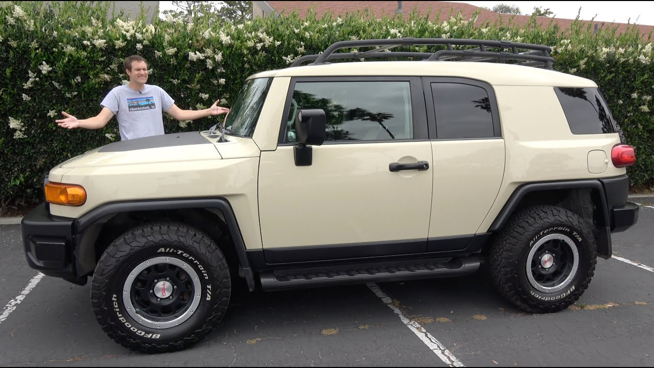The Toyota Fj Cruiser Is The Best Used Toyota Suv You Can Buy