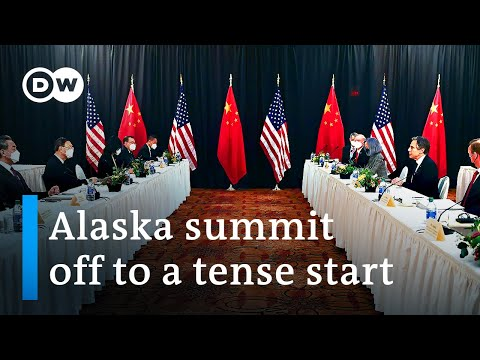 Alaska summit: US and China trade barbs in heated exchange | DW News