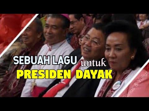 Lagu Presiden Dayak peresmian Gereja Katedral