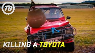 Killing a Toyota Part 1 | Top Gear | BBC thumbnail
